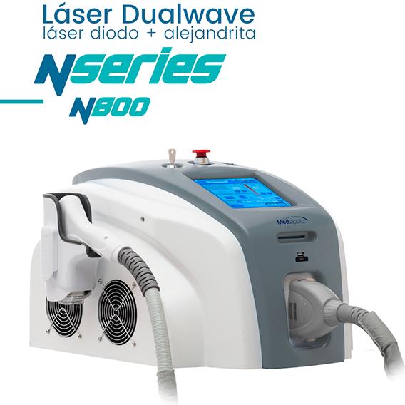 depilación láser diodo y alejandrita